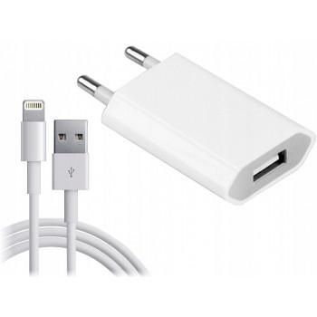 Ładowarka+Kabel do iPhone 5...